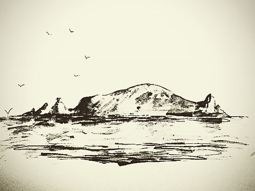 Portmuck Island,Co Antrim