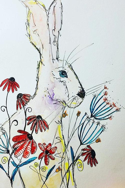 """""""Peaceful hare"""""""