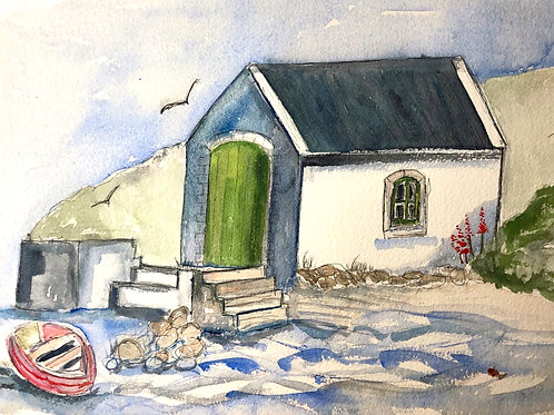 THE BOATHOUSE, BALLINTOY HARBOUR, Northern Ireland