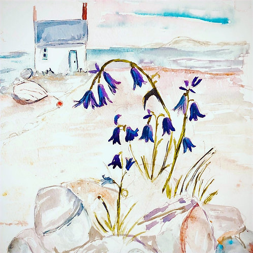 Bluebell Cottage ( signed print)