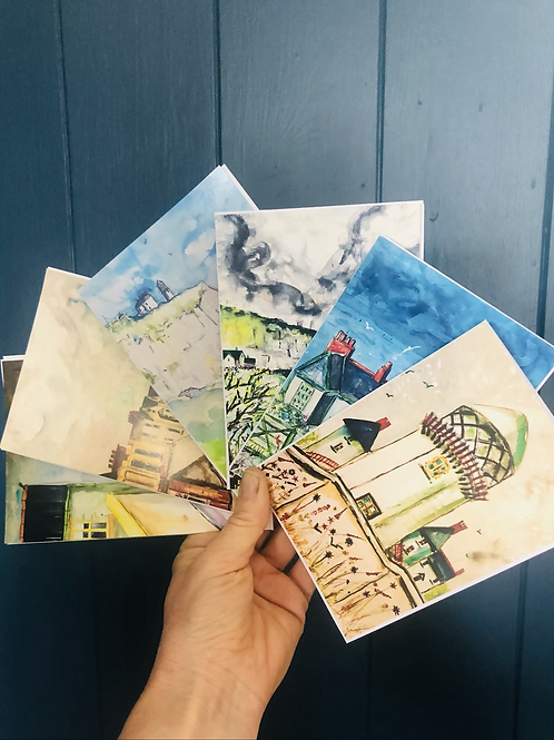 Greeting card collection pack (Whitehead by the Sea)