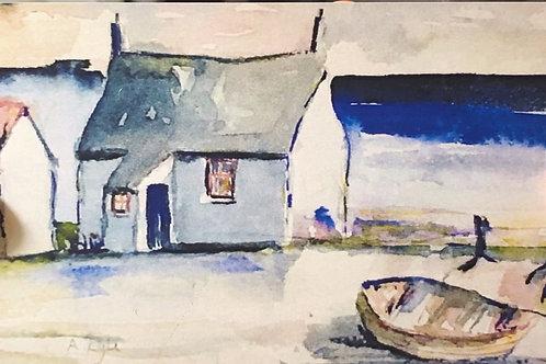 Fishermans Cottage (Greeting card)