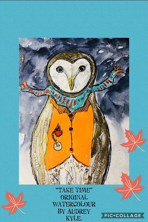 Watercolour and Mixed Media workshop for kids Wednesday 7th July 10.30 to 12.30