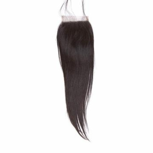 4x4 Natural Straight HD Seamless Lace Closure