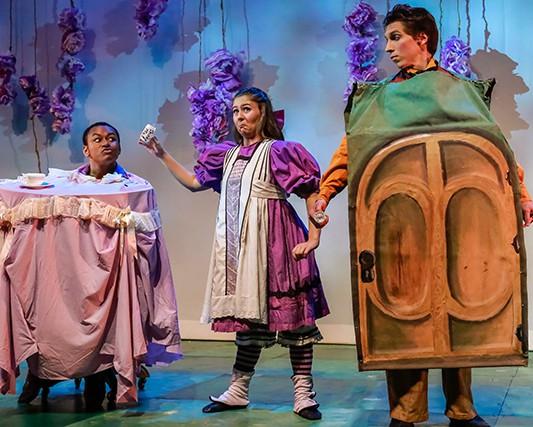 The Door in Alice in Wonderland dir. Gay H. Hammond