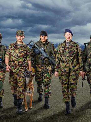 Frauen ins Militär? 🇨🇭