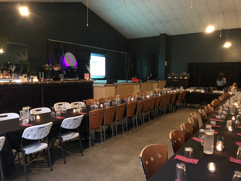 21st Brithday Party - Venue Set up
