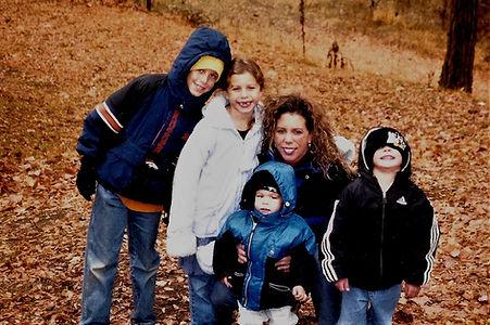 Susie, Michaela, Javan, Zach Spoolsta family