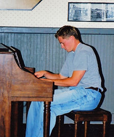 Shawn Marti Playing Piano