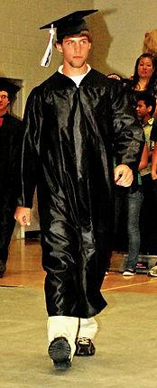 Zach Spoolstra graduats from Parma High School