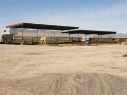 Horse corral in Axtell