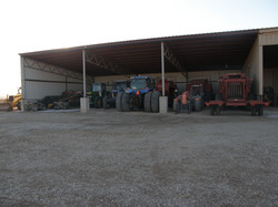Equipment shed near Axtell