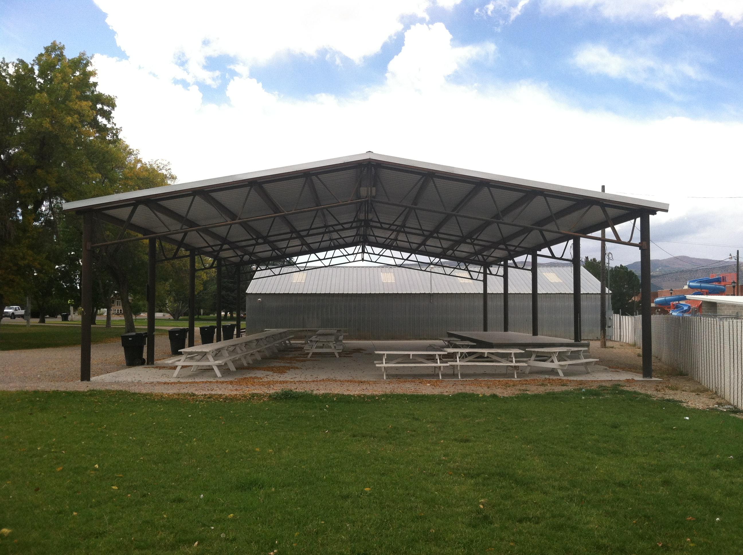 Manti Fairgrounds Pavilion