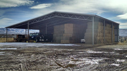 Hay & equipment shed in Heber
