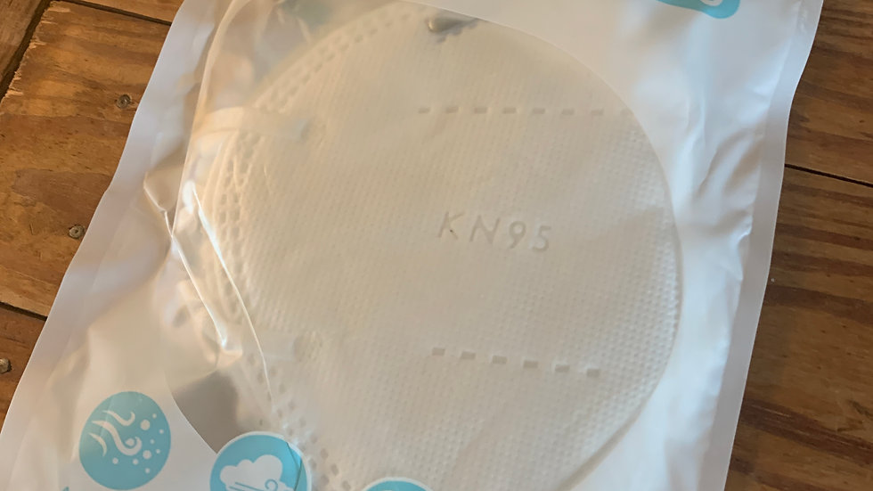 5 Pack of KN 95 Respirator Mask