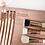 גילמור ביוטי - ZOEVA  - ZOEVA  -  !!סט 8 מברשות מקצועי משיער טבעי וסינטטי כולל תיק מהודר