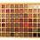 Thumbnail: פלטת צלליות מקצועית  ענקית 70 צלליות בצבעי טבע מושלמים- HUDABABY