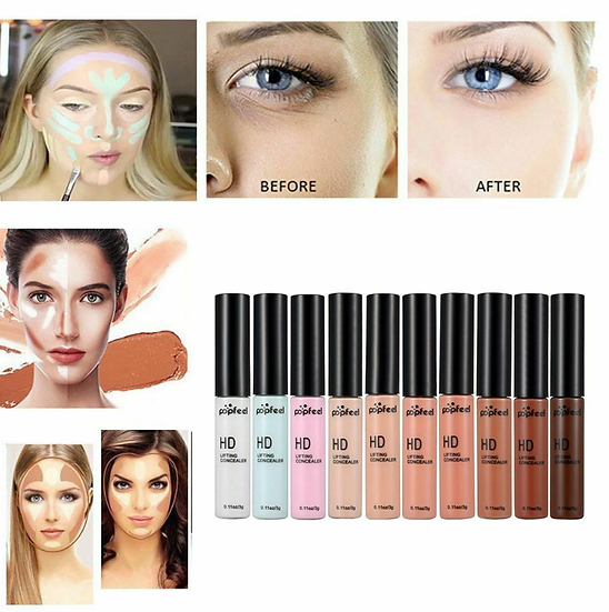 Gilmore Beauty - POPFEEL HD Lifting Concealer Dark Circles Hide Blemish Base Liquid Foundation