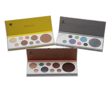 Gilmore Beauty - Miss Doozy Eyeshadow Palette Professional 9 colors Shimmer Highlight Pressed powder