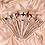 סט 9 מברשות מקצועי משיער סינטטי איכותי למייק אפ קונסילר וקונטור – IMAGIC - גילמור ביוטי