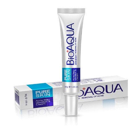 Gilmore Beauty - Bioaqua 30g Acne Treatment Blackhead Remova Anti Acne Cream Oil Control