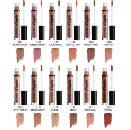 Gilmore Beauty - NYX Matte Waterproof Lip Gloss