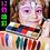 גילמור ביוטי - פלטה 12 צבעי שמן מעולים לאיפור גוף ופנים