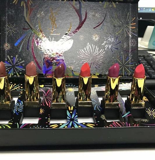 גילמור ביוטי - YSL - סט 6 שפתונים עשירים בלחות של איב סאן לורן