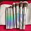 גילמור ביוטי - סט 9 מברשות מקצועי משיער סינטטי איכותי –Docolor