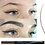 Gilmore Beauty - PHOERA Waterproof Microblading Fork Tip Eyebrow Tattoo Pen EyeBrow Pencil