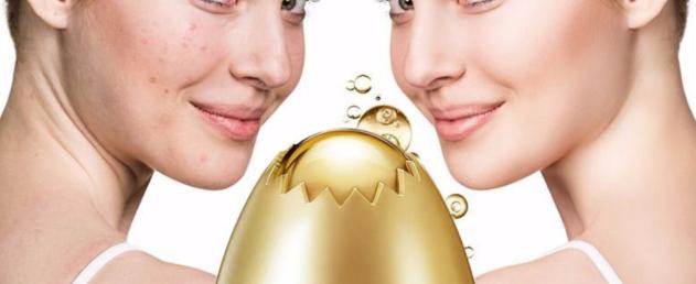 ביצת הזהב - מסיכת קילוף על בסיס שמרים