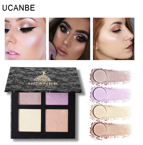 Gilmore Beauty - UCANBE Highlighter Makeup Palette