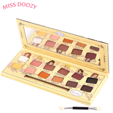 Gilmore Beauty - Miss Doozy Nude Eyeshadow Pallete Glitter Balm Smoky Brow Cosmetic Makeup Natural Matte