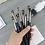 Gilmore Beauty - ZOEVA 10Pcs Makeup Eye Brushes Set Synthetic Hair