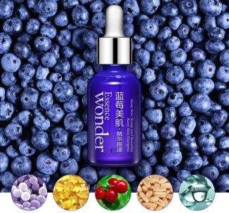Gilmore Beauty - BIOAQUA Blueberry Hyaluronic Acid Liquid Anti Aging Collagen Pure Essence Whitening Moisturizing Skin Care