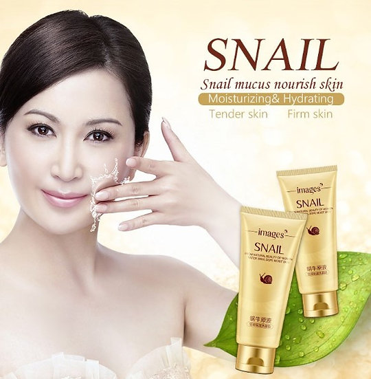 Gilmore Beauty - Snail Essence Cleansing Gel Deep Clean Shrink Pores Hydrating Whitening Moisturizing