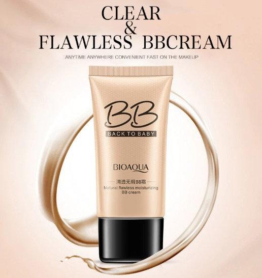 Gilmore Beauty - BIOAQUA Brand 3 Colors Natural Flawless BB Cream Makeup Concealer Oil-control Liquid Foundation Moisturizing