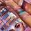 Thumbnail: קני פלטת הודה ניוד ניו 18 צלליות וקבלי ריסים של הודה מתנה