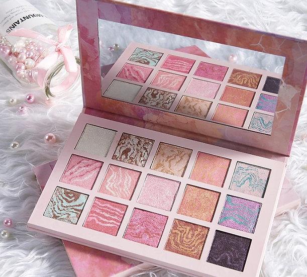 Gilmore Beauty - Moongate Palette 15 Color Glitter Shimmer Eyeshadow Dazzlingly Beauty Makeup Korea Cosmetics Eye Shadow