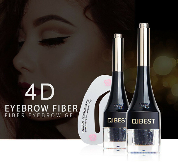 Gilmore Beauty - QIBEST Waterproof 3D Eyebrow Hair Extensions Fiber Building Eye Brow Hair Gel