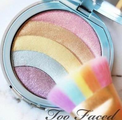 פלטה מושלמת בצבעי גלידה לשימוש כהיילטר או כצלליות - Too Faced Rainbow - גילמור ביוטי