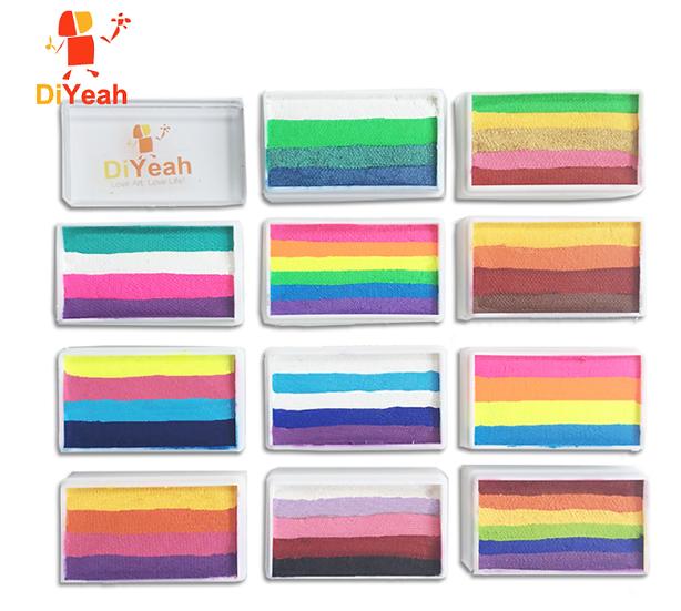 גילמור ביוטי - DiYeah Rainbow- צבעי מים קשת איכותיים ומקצועיים 30 גרם