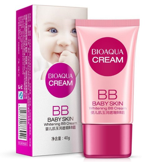 Gilmore Beauty - BIOAQUA Cover BB Cream Concealer Whitening Moisturizing Base Face foundation Makeup BB Cream