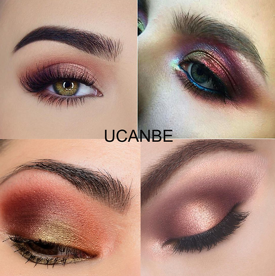 Gilmore Beauty -  UCANBE  12 Color Baked Eyeshad
