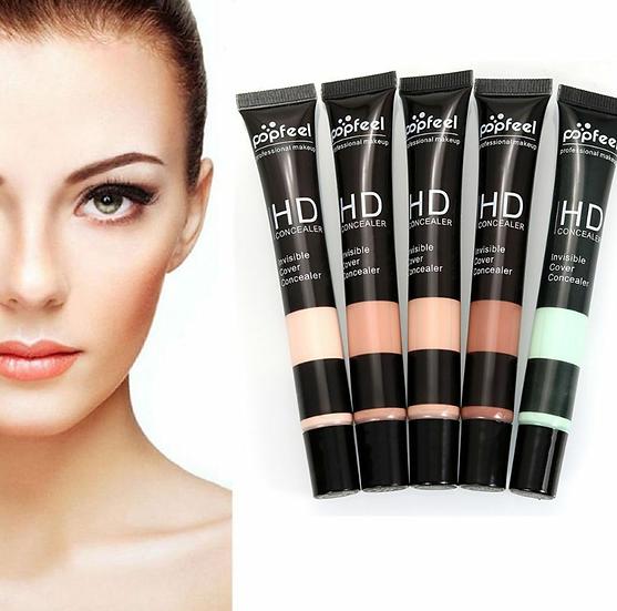 Gilmore Beauty - popfeel 5 Colors Hot Sale Professional High Definition Liquid Concealer face fix fluid liquid Foundation