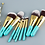גילמור ביוטי - AnMor -סט מקצועי 9 מברשות