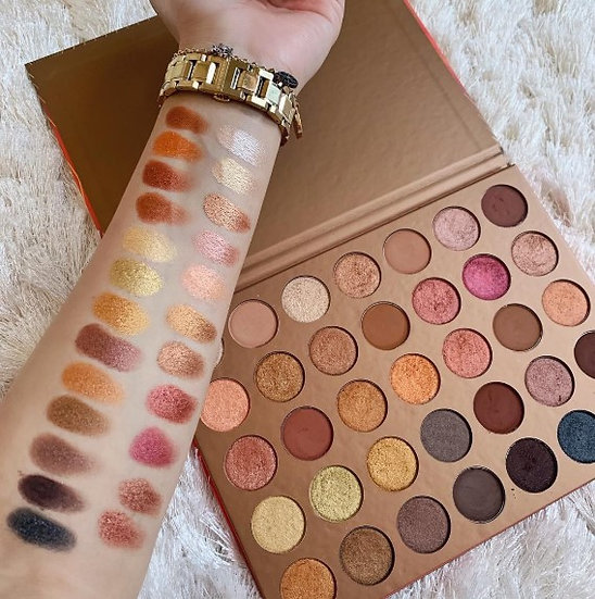 Gilmore Beauty - MORPHE 35G BRONZE EYESHADOW PALETTE LIMITED EDITION