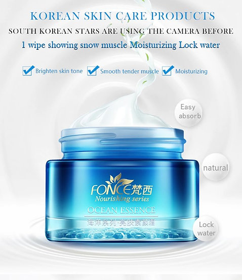 Gilmore Beauty - Fonce Women Hyaluronic acid Day Cream Moisturizing CC makeup Cream Brightens skin Covers pores Nourishes