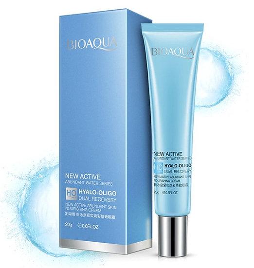 Gilmore Beauty - BIOAQUA Sodium Hyaluronate Firming Ageless Eye Cream Whitening Moisturizing Hydrating Remover Dark Circles