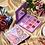 גילמור ביוטי - פלטת 16 צלליות מקצועית בצבעי אדמה, ניוד וסגולים - HUDAMOJI